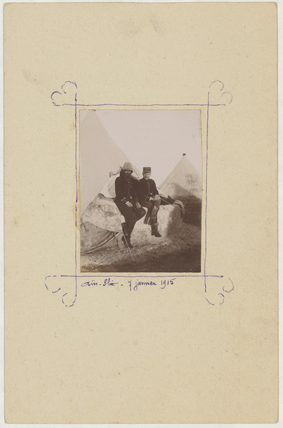 Image from object titled FRBNFM-082 Joseph Gauvain, capitaine dans l'infanterie coloniale