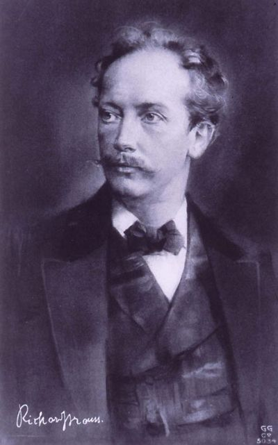 Image from object titled Richard Strauss : [Buste, 3/4 à g.] : [Compositeur et chef d'orchestre allemand]
