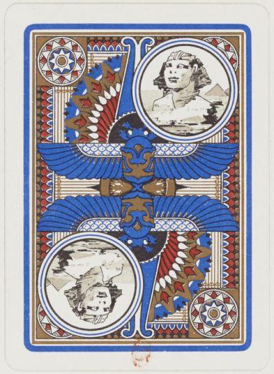 Image from object titled [Échantillons de dos de cartes à jouer américaines] : [jeu de cartes, estampe]