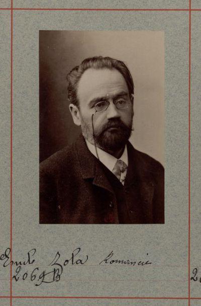 Image from object titled M. Emile Zola, romancier : [photographie, tirage de démonstration] / [Atelier Nadar]