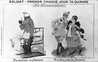 Image from object titled Soldiers and quinine