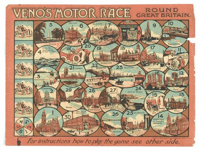 Image from object titled Game: 'Veno's Motor Race Round Great Britain'