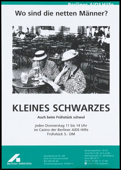 Image from object titled Thursday gay breakfasts at the Berliner AIDS-Hilfe