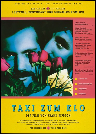 Image from object titled Taxi to the loo, a film about AIDS
