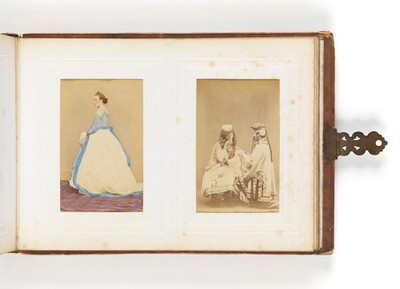 Image from object titled James Gardiner Collection: Victorian photograph album.