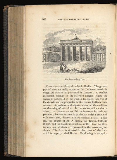 Image from object titled Page 262, The Brandenburg Gate.