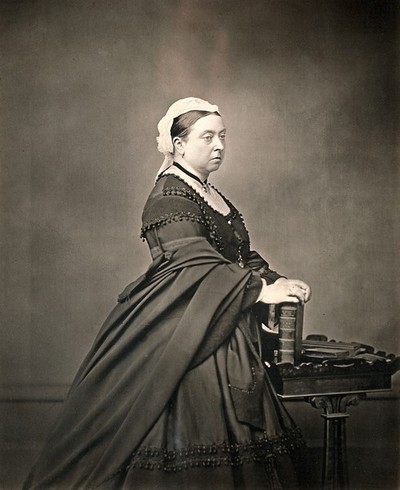 Image from object titled Queen Victoria. Photograph.