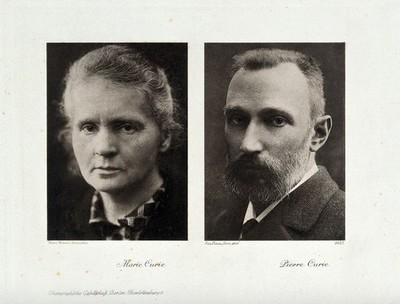 Image from object titled Portraits of Marie Curie and Pierre Curie