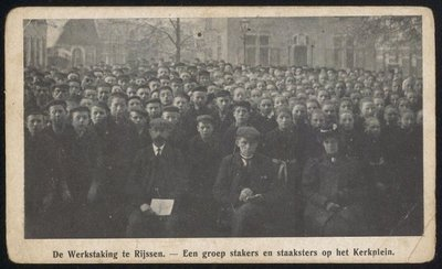 Image from object titled Werkstaking bij ter Horst en Co.1906/1907