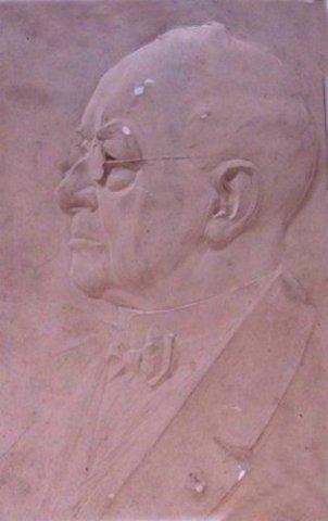 Dr. Herman Schaepman, priester en politicus vervaardigd door August Falise, ca. 1900