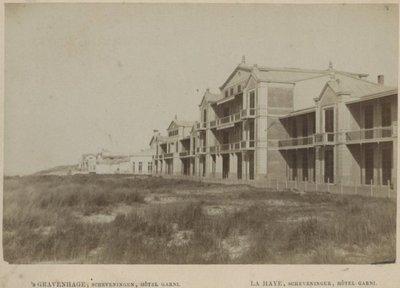 Hotel Garni, gezien vanaf de Strandweg