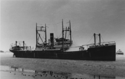 Image from object titled Vrachtschip <i>Bacchus</i> van de Koninklijke Nederlandsche Stoomboot Maatschappij N.V.; Gebouwd in 1911. 2255 brt. Verkocht in 1956.