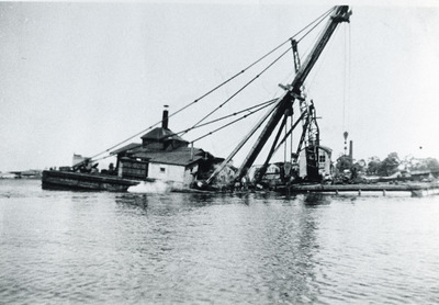 Onderzeeboot Hr.Ms. K XII (1925-1944), berging en sloop at Ryde
