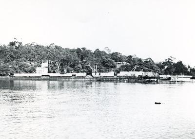Onderzeeboot Hr.Ms. K XII (1925-1944), berging en sloop at Berrys Bay
