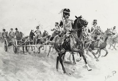 Korps der rijdende artillerie te velde
