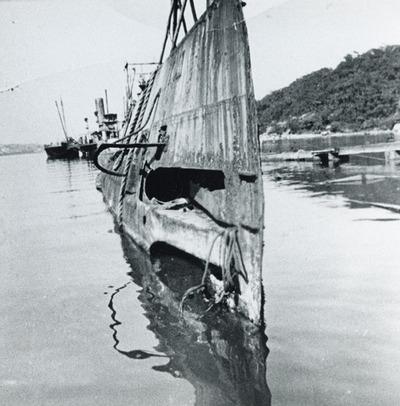 Onderzeeboot Hr.Ms. K XII (1925-1944), berging en sloop in Berrys Bay