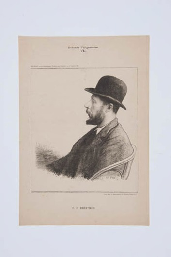 Portret G.H. Breitner