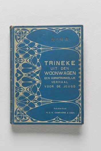 'Trineke uit den woonwagen', door Nina