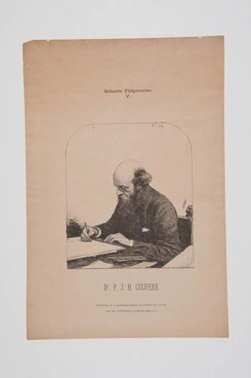 Portret van dr. P.J.H. Cuijpers