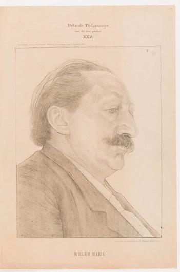 Portret Willem Maris