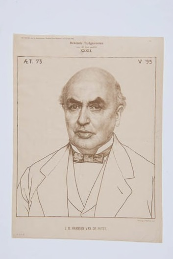 Portret J.D. Fransen van de Putte