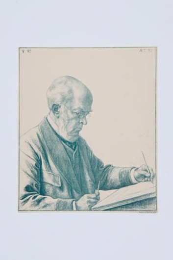 Portret Adolph Menzel