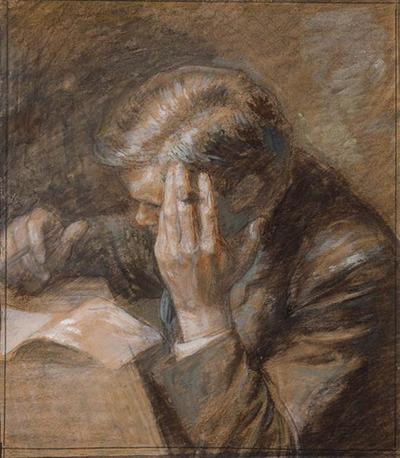 Portret van Frederik van Eeden