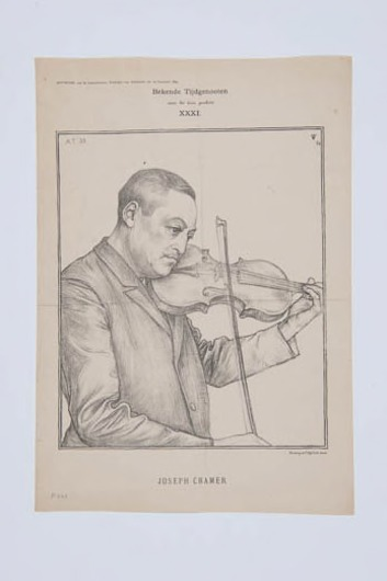 Image from object titled Portret Joseph Cramer