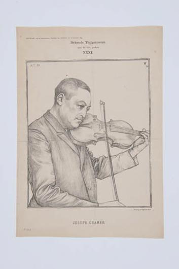 Portret Joseph Cramer