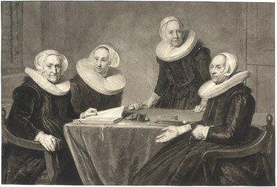 na 't schilderije van J:Verspronk Pinx., berustend te Haarlem in 't St.Elisabets Gasthuis / [door] Wybrand Hendriks naar Johannes Verspronck. - [1641 ; ca.1800]. - 1 tekening op           papier : pen en penseel in zwart...
