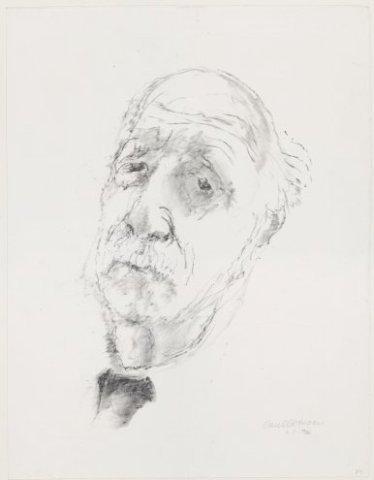 Portret van Kees Verwey<br> lithografie <br> Gesigneerd rechtsonder .; NL-HlmNHA_53002663_G; Kennemerland NL-HlmNHA_53002663_G