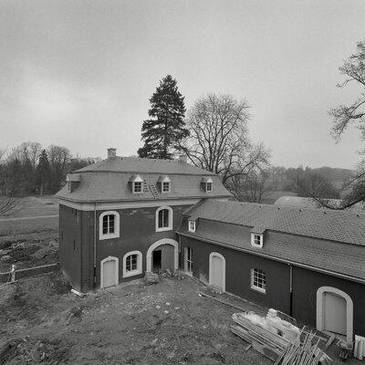 Image from object titled Overzicht naar het oosten van de pachthof