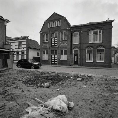 Image from object titled Voorgevel kaaspakhuis/kaashandel (ontwerp Zaal)