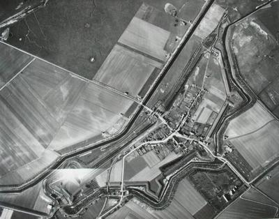 Image from object titled oerzicht van een hoogte van 1650 meter. Schaal 1:5600