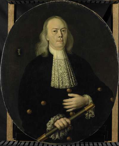 Image from object titled Portrait of Abraham van Riebeeck (1653-1713)