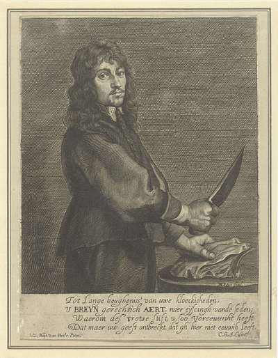 Portret van Breynaert