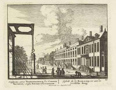 Gezicht op de Koekamp te Den Haag; Vermakelijke Gesigten van het overschone 's-Gravenhage; Admirandorum quadruplex spectaculum