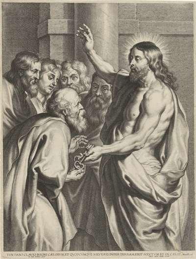 Christus geeft Petrus de sleutels