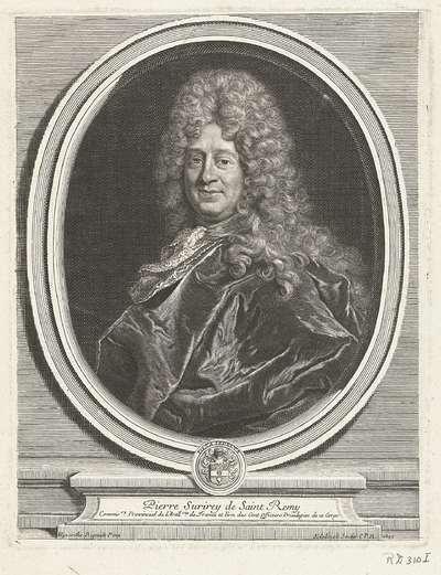 Portret van Pierre Surirey de Saint Rémy