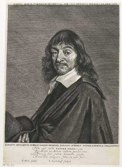 Portret van René Descartes