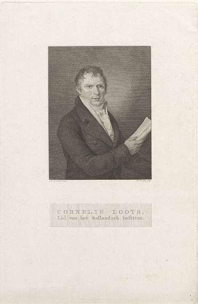 Portret van Cornelis Loots