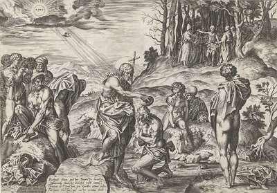 Image from object titled Doop van Christus