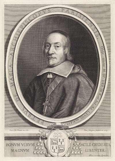 Portret van bisschop Pierre de Marca