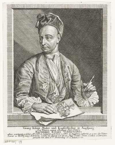 Portret van Georg Kilian