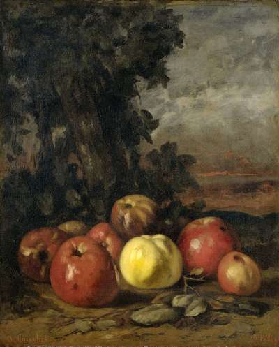 Image from object titled Still Life with Apples