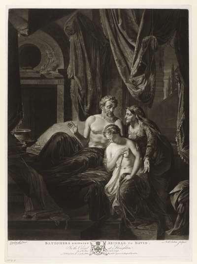 Bathseba brengt Abisagh bij David