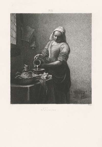 Het melkmeisje; Hollandse meesters
