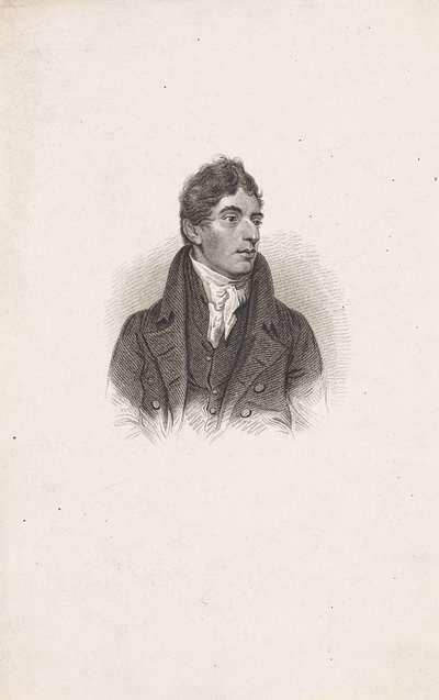 Portret van de Engelse schrijver Robert Southey