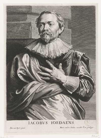 Portret van Jacob Jordaens