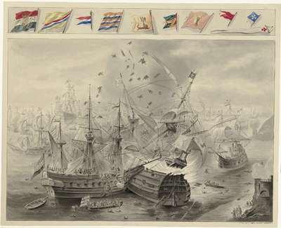 Zeeslag voor Gibraltar, 25 april 1607